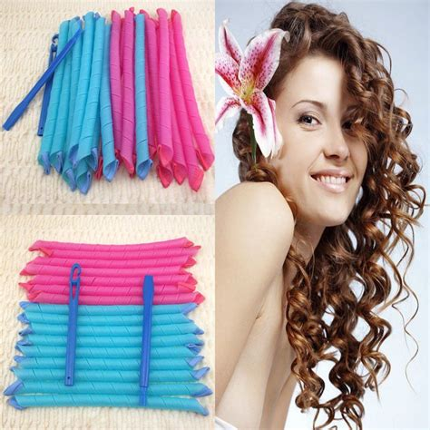Hair Curlers For by Groopdealz Spiral Hair Curlers Set Of 8 Curlers