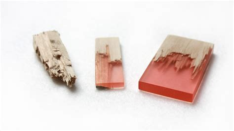 wood jewelry designer marcel dunger creates jewelry by fusing colorful
