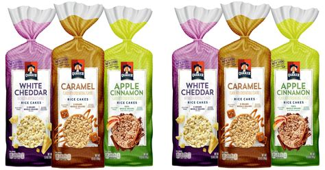 Pac Two Way Cake 03 Caramel prime quaker gluten free rice cakes 6 count