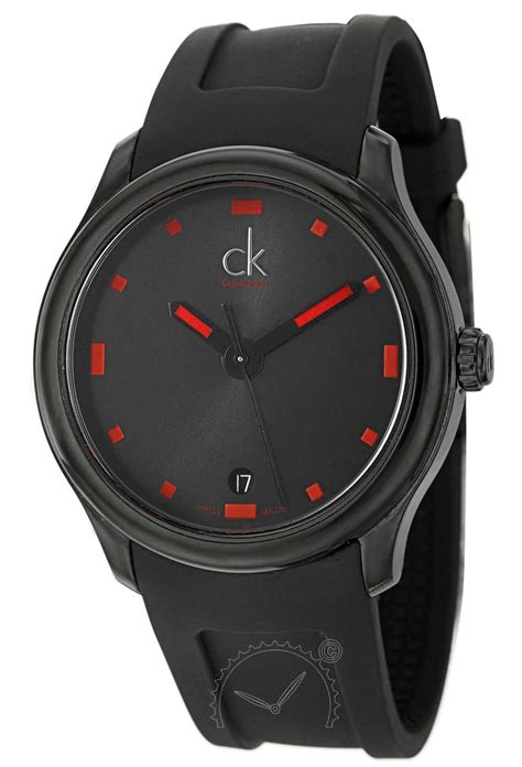 Calvin Klein Pasir 201 Black Gold calvin klein watches watches ag