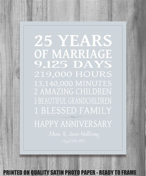 25th wedding anniversary card verses 25th anniversary for husband quotes quotesgram