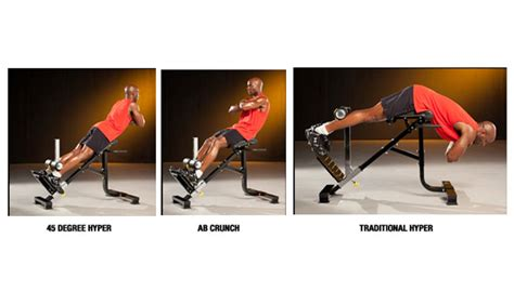 hyperextension bench workouts sf bay area fitness store dual hyperextension crunch