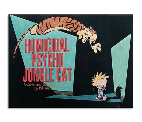 homicidal psycho jungle cat a calvin and hobbes collection shop calvin and hobbes books