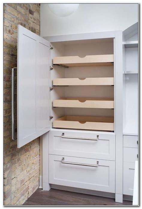 pantry cabinet with sliding drawers cabinet home