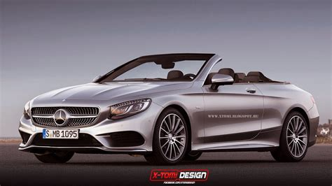 mercedes convertible 2015 mercedes benz s class already imagined as convertible