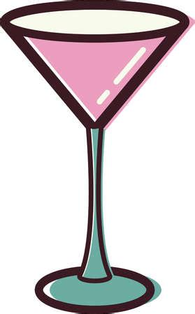 martini cartoon clip stock illustration illustration of a martini glass