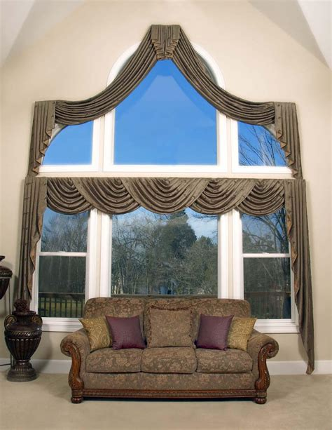 Arched Window Treatments Ideas Arched Window Treatments Ideas Window Treatments Design Ideas