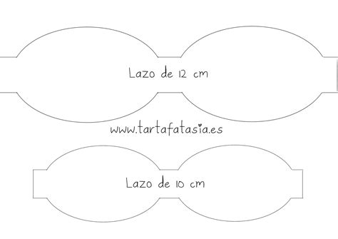 plantillas para hacer lazos de foami lazos mejor conjunto de frases c 243 mo hacer un lazo o mo 241 o con fondant tartafantas 237 a