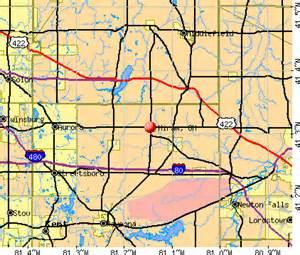 hiram ohio oh 44234 profile population maps real