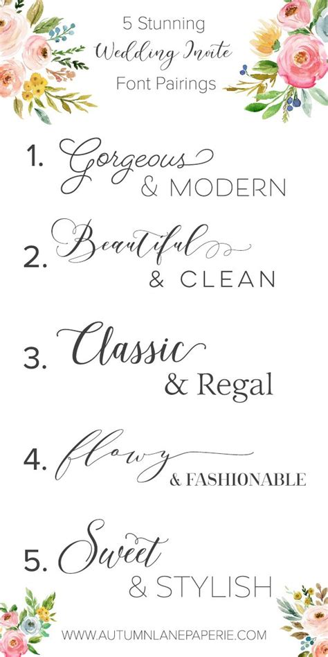 beautiful fonts for wedding invitations font crush time beautiful fonts wedding season and fonts