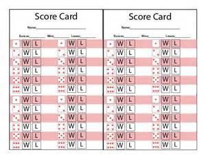free bunco scorecard template printable bunco score sheet basketball scores