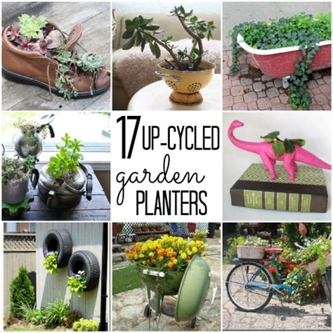 Things To Use As Planters by Unique Flower Pots C R A F T