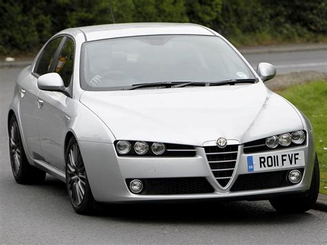 white alfa romeo 159 wallpapers and images wallpapers