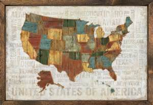 framed map of united states united states of american map vintage framed print