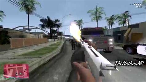 mod gta 5 for sa gta sa gta v weapon sounds mod v1 beta youtube