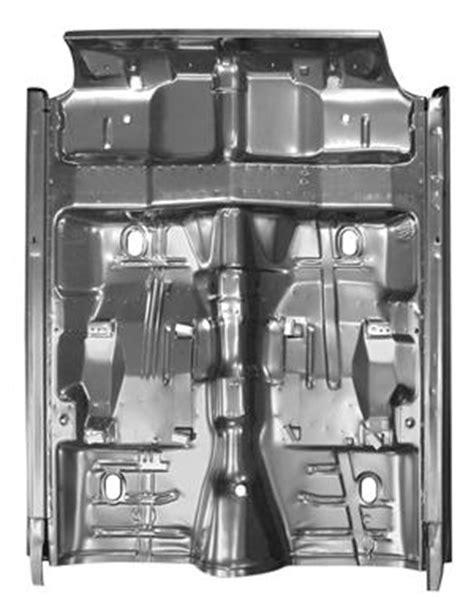 Floor Panel w/All Support & Rocker Panel, 1968-69 Chevelle