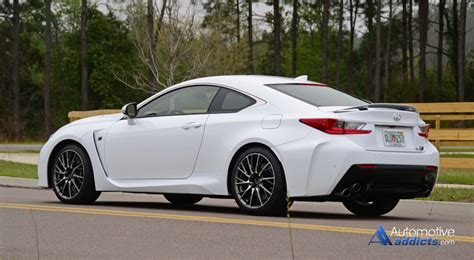 rcf lexus white in our garage 2015 lexus rc f