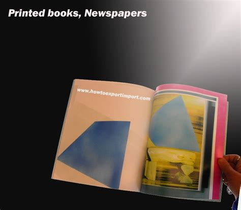 Books Newpapers As by Export Clearance Formalities Of Printed Books Newspapers