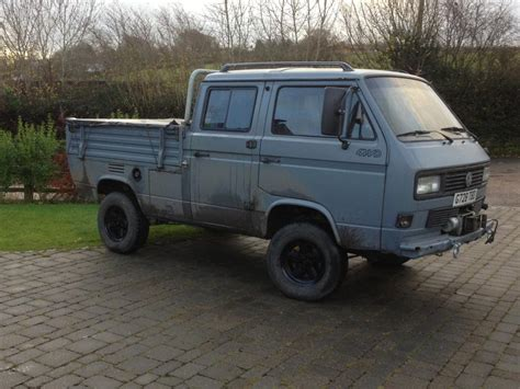 volkswagen syncro 1989 vw syncro mtdi 4 door doka with vindic type canopy