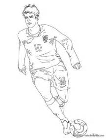 kaka playing soccer coloring pages hellokids com