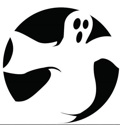 printable pumpkin stencils ghost pumpkin templates for halloween 171 home life weekly