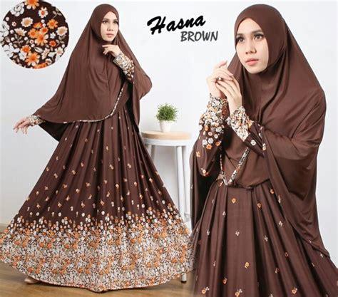 Grosir Murah Gloria Syari Cantik 3 gamis cantik murah b106 hasna syar i baju muslim