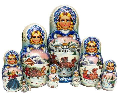 Matryoshka Fairytale Russian Dolls 1 Set Isi 10 1 17 best images about 10 nesting dolls on