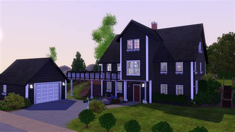 www house mod the sims norwegian house