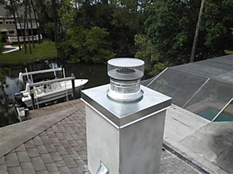 chimney caps and venting florida fireplace systems