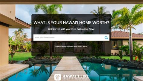 what s the value of your home hawaii real estate market
