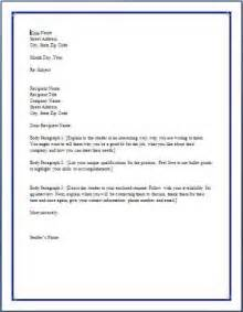 typical cover letter format best photos of standard business letter format standard
