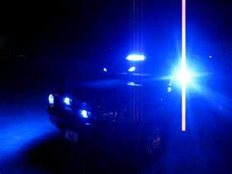 volunteer firefighter blue light firefighter dodge durango blue lights