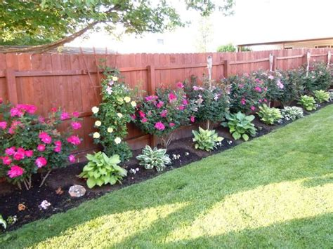 Fence Landscaping Ideas 17 Best Ideas About Landscaping Along Fence On Pinterest Landscaping Plants How To Landscape