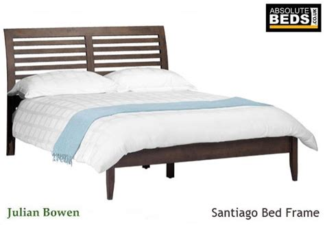 Julian Bowen Santiago Wooden Bed Frame Best Price Santiago Bed Frame