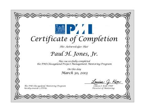 certificate of completion 2012 2013 mentor metee program