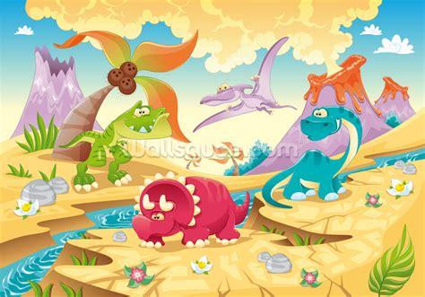 dinosaur wall murals dinosaurs wallpaper wall mural wallsauce