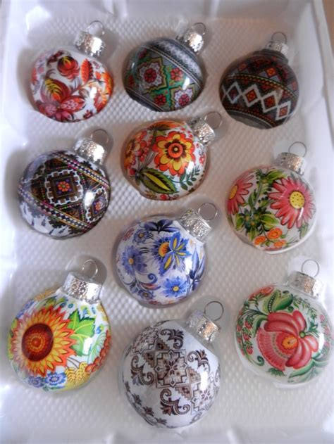 ukrainian christmas ornaments glass christmas ornaments