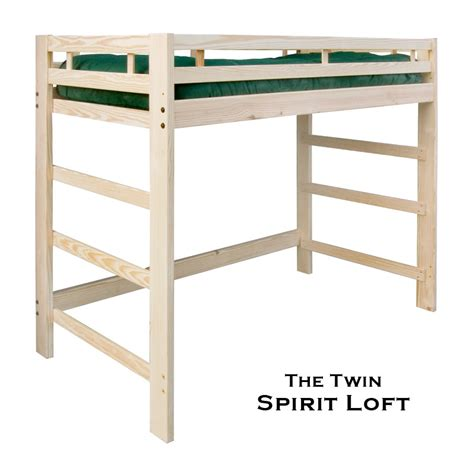 loft twin bed frame francis lofts aluminum open loft bed full size loft bed
