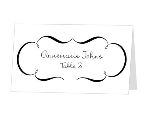Place Cards Template Microsoft Office by 131 Best Images About S Wedding On