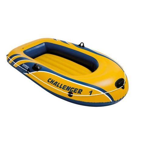 opblaasbare boot opblaasbare boot intex challenger 1 persoons geel