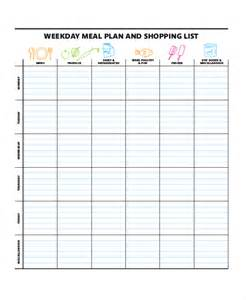 weekly list template weekly meal planner 10 free pdf psd documents