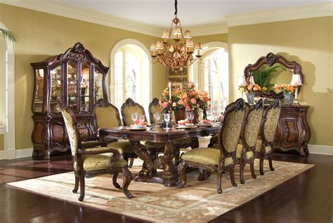 michael amini dining room set michael amini chateau beauvais formal dining room set