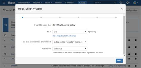 mercurial workflow commit policy for jira git svn hg atlassian marketplace