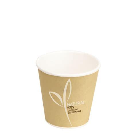 bicchieri per bicchieri per caff 232 in cartoncino e pla 120ml colore avana