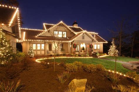 decorated christmas lights houses southern living christmas house by carithers flowers
