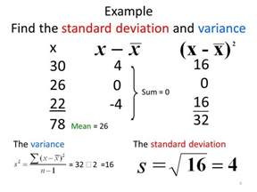 standard deviation template section 3 2 measures of variation range standard deviation