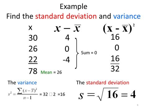 section 3 2 measures of variation range standard deviation