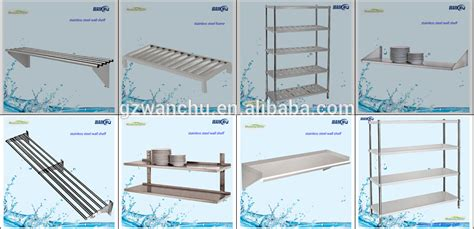 kitchen shelving restaurant and hotel stainless steel 5