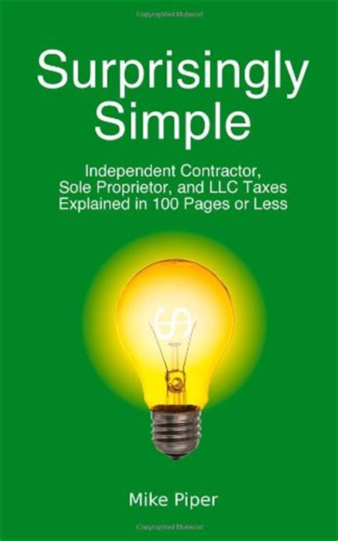 taxes made simple income taxes explained in 100 pages or less books tax checklist for small business owners