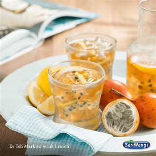 Teh Celup Sariwangi Isi 50 teh markisa jeruk lemon minuman penutup yang manis